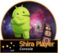 ShiraPlayer Console splash